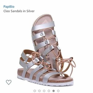 NWT Papillio by Birkenstock Cleo lace up sandal